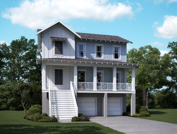 Single Family for Sale at Wando A 2134 Brown Pelican Lane, Homesite 12 James Island, South Carolina 29412 United States