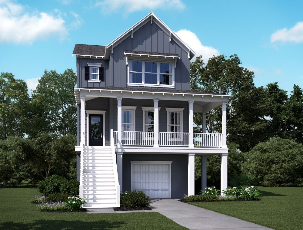 Single Family for Sale at Summerside C8 2214 Brown Pelican Lane, Homesite 4 James Island, South Carolina 29412 United States
