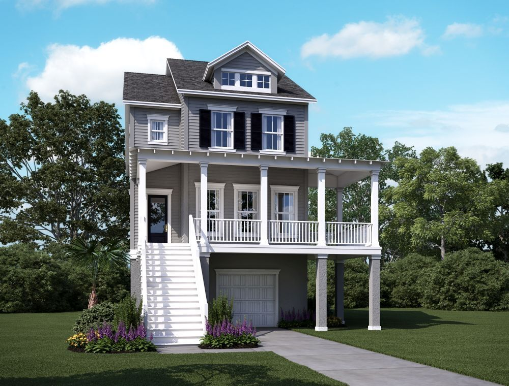 Single Family for Sale at Summerside B 2166 Brown Pelican Lane, Homesite 9 James Island, South Carolina 29412 United States