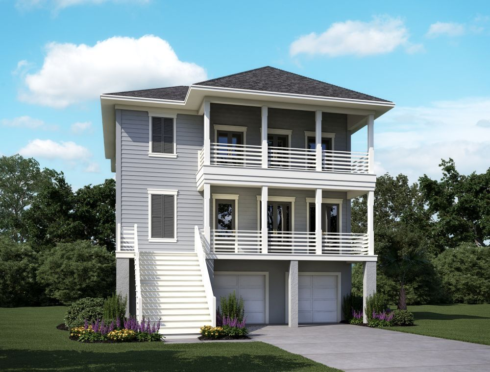 Single Family for Sale at Wando E 2186 Brown Pelican Lane, Homesite 7 James Island, South Carolina 29412 United States