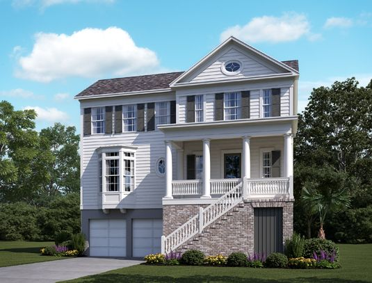 Single Family for Sale at Stratton By The Sound - Reeds 1439 Stratton Place Mount Pleasant, South Carolina 29466 United States