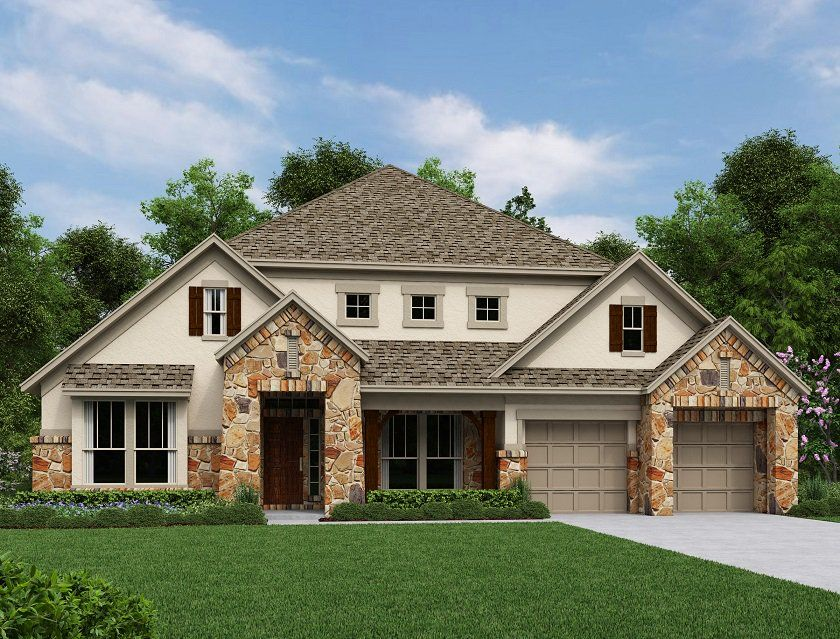 Single Family for Sale at Lakes Edge - Lorraine 2500 Ashley Worth Blvd Bee Cave, Texas 78738 United States