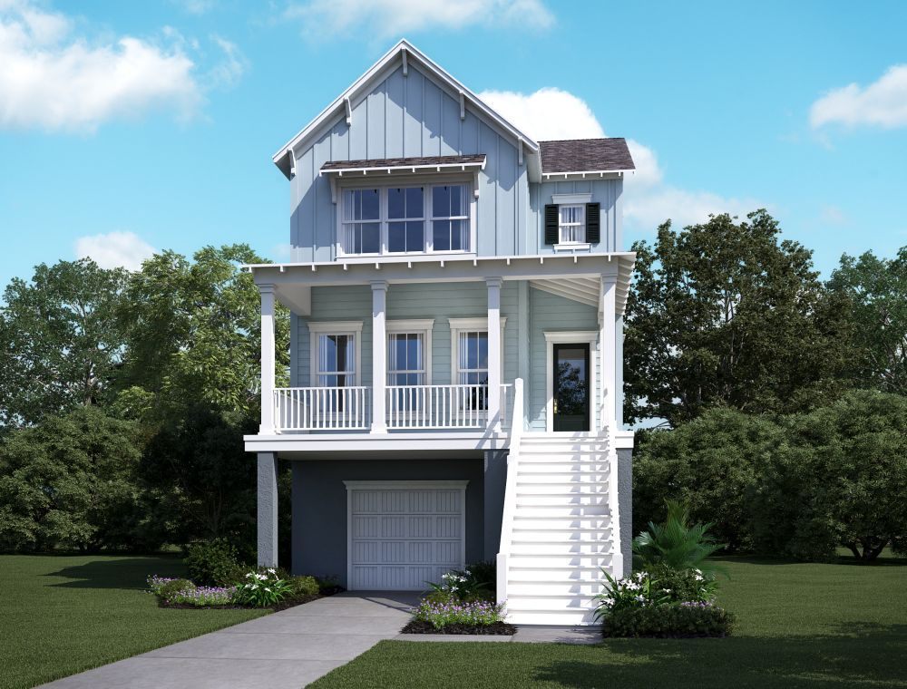 Single Family for Sale at Summerside B 2174 Brown Pelican Lane, Homesite 8 James Island, South Carolina 29412 United States
