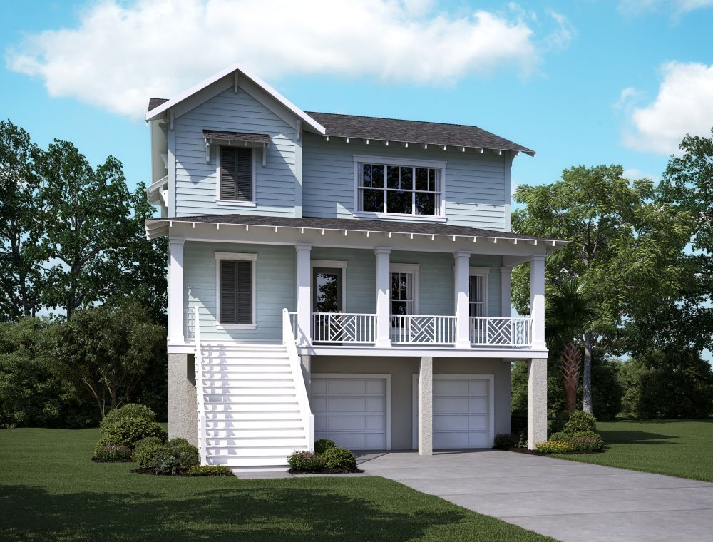 Single Family for Sale at Wando A 2206 Brown Pelican Lane, Homesite 5 James Island, South Carolina 29412 United States