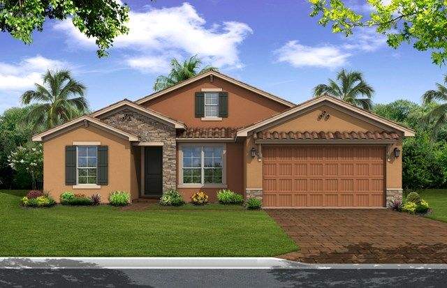 Single Family for Sale at Key Largo 10097 Red Oak Court Port St. Lucie, Florida 34987 United States