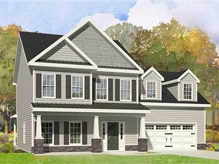 Single Family for Sale at Poplar Branch - The Macleod 149 Poplar Branch Way Hampstead, North Carolina 28443 United States