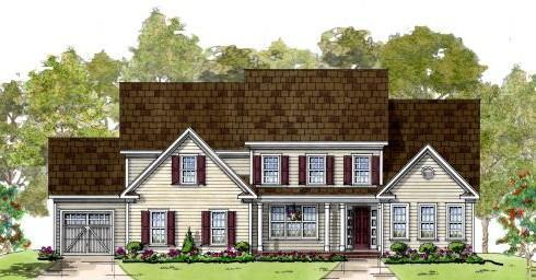 Single Family for Active at Wallnut Hill Farm - Emerson 299 Bonheur Ave. Gambrills, Maryland 21054 United States