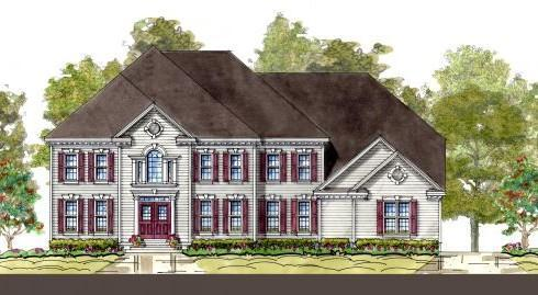 Single Family for Active at The Vineyard - Robert Eden Ii 299 Bonheur Ave. Gambrills, Maryland 21054 United States