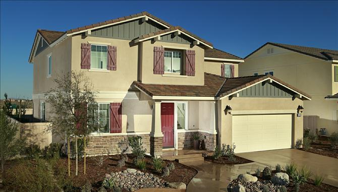 Single Family for Sale at Sunset Landing At Lancaster - Manzanita 45130 42nd St. West Lancaster, California 93536 United States