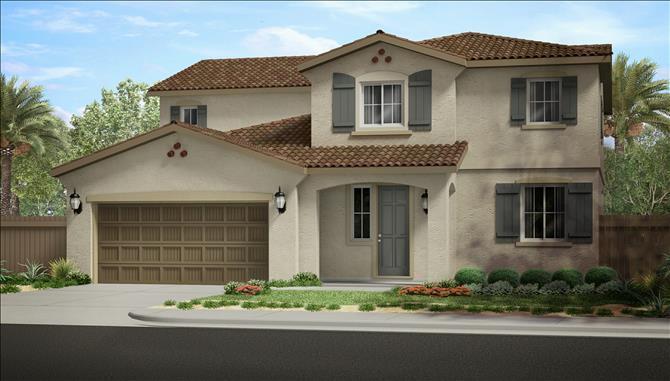 Single Family for Sale at Sunset Landing At Lancaster - Manzanita 45131 Landing Place Lancaster, California 93536 United States