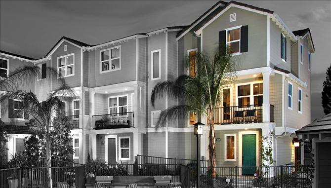 Multi Family for Sale at Norfolk At Bayside Landing - Lark (End Unit) 500 Shorebird Way Imperial Beach, California 91932 United States