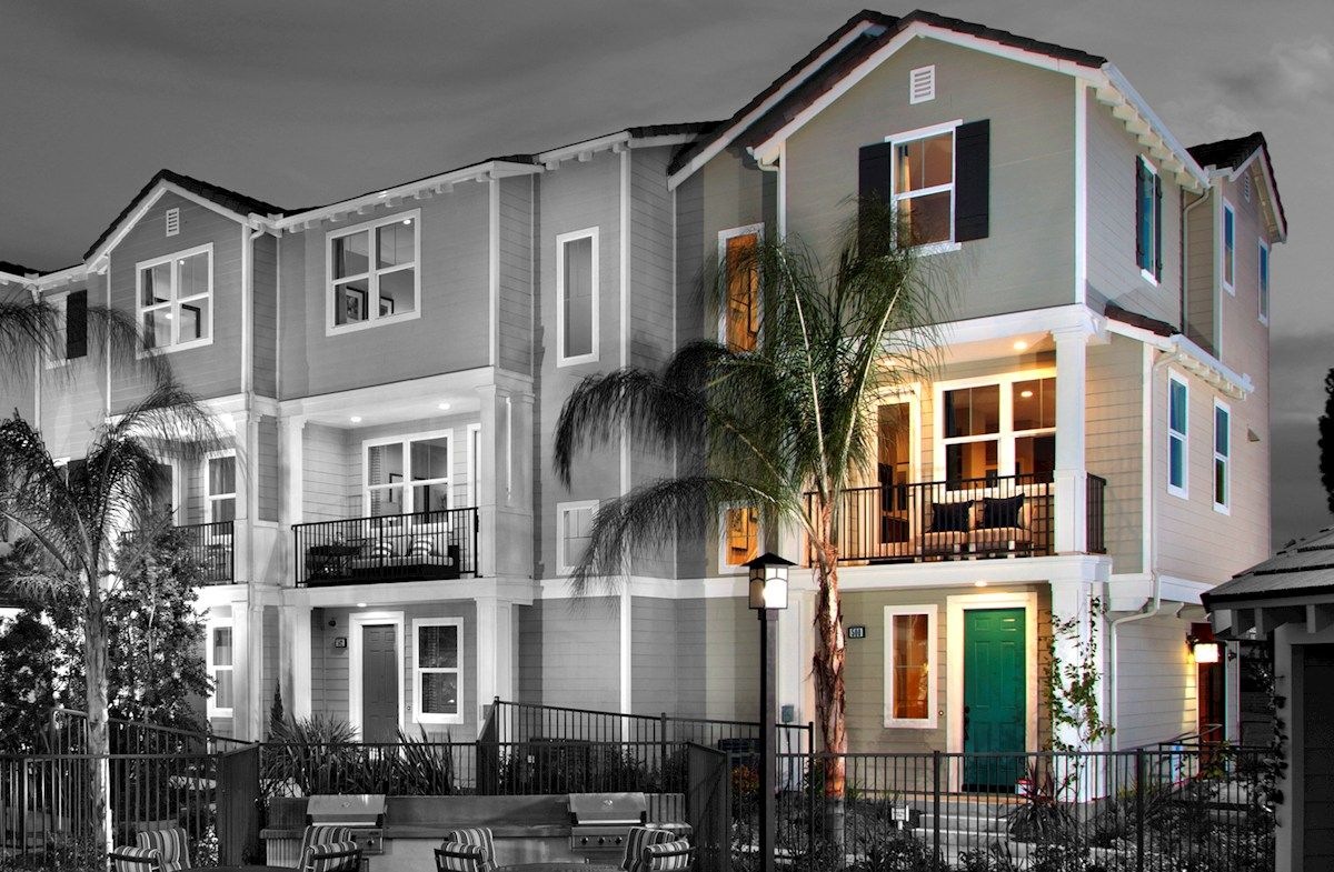 Multi Family for Sale at Bayside Landing - Lark (End Unit) 500 Shorebird Way Imperial Beach, California 91932 United States