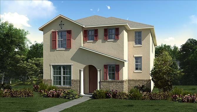 Summerlake Single Family New Homes In Winter Garden Fl By