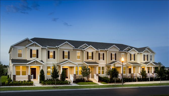 Summerlake Townhomes New Homes In Winter Garden Fl By
