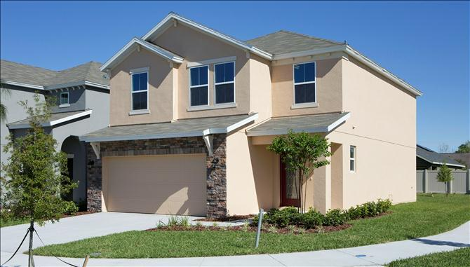 Saratoga Park New Homes In Kissimmee FL By Beazer Homes