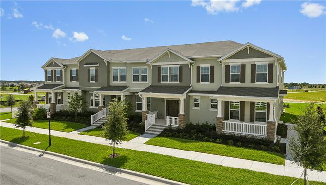 Summerlake Townhomes New Homes In Winter Garden Fl By Beazer Homes