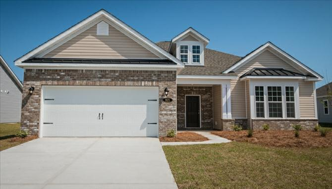 Single Family for Sale at Valleydale 821 Lafayette Park Drive Little River, South Carolina 29566 United States