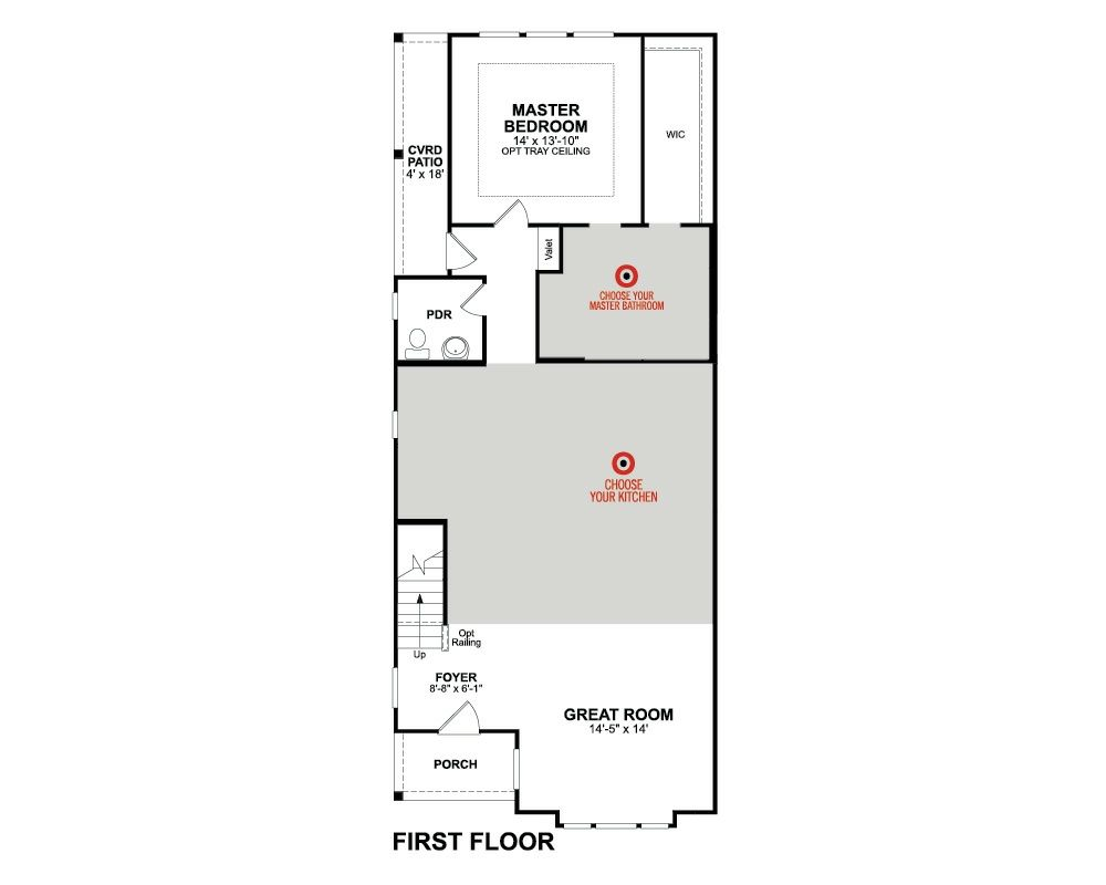 Beazer Homes Hamilton Floor Plan