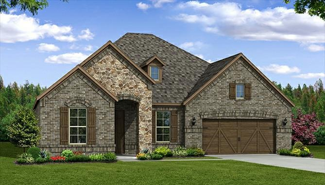 Single Family for Sale at Glen View - Adler Now Selling From: 3205 Horizons Drive Little Elm, Texas 75068 United States