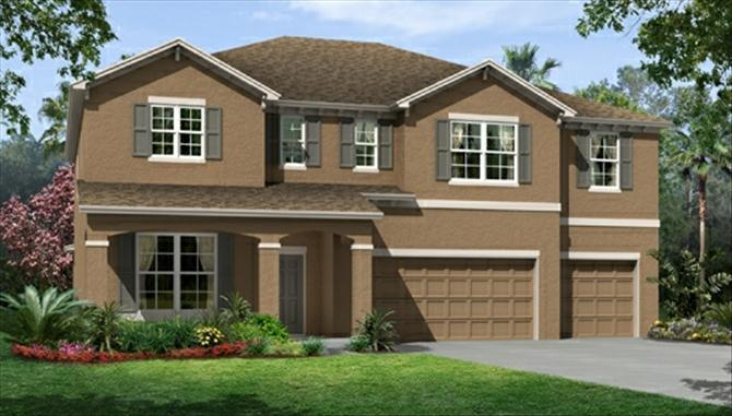 Single Family for Sale at The Reserve At Pradera - Sequoia 13312 Palmera Vista Dr. Riverview, Florida 33579 United States