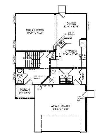 Beazer homes shadow creek farms manchester 1108595 for Beazer homes floor plans