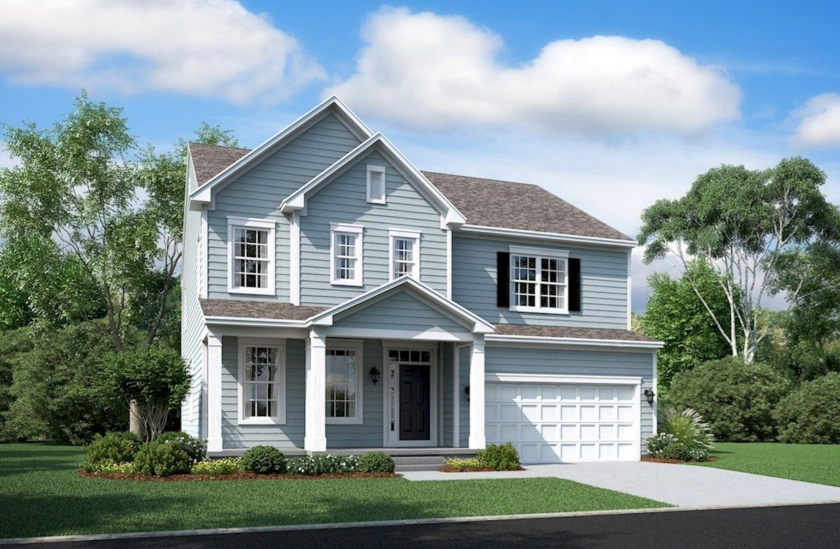 Single Family for Active at Severn Place - Oxford 1007 Cortana Ct. Severn, Maryland 21144 United States