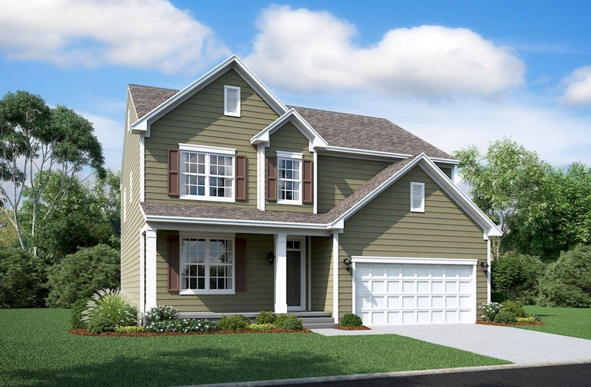 Single Family for Active at Enclave At River Hill - Nottingham 12515 Vincents Way Clarksville, Maryland 21029 United States