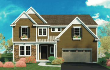 Single Family for Active at Bridlewood Ridge - Bolinger 1743 Route 9 Clifton Park, New York 12065 United States