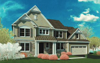 Single Family for Active at Bridlewood Ridge - Parker 1743 Route 9 Clifton Park, New York 12065 United States