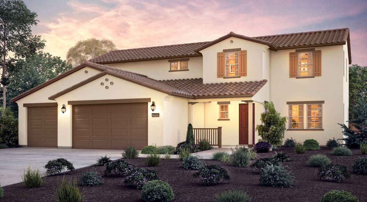 Single Family for Sale at Meadowood - Mahogany Collection - Laurel 7234 E. Adena Ave Fresno, California 93737 United States