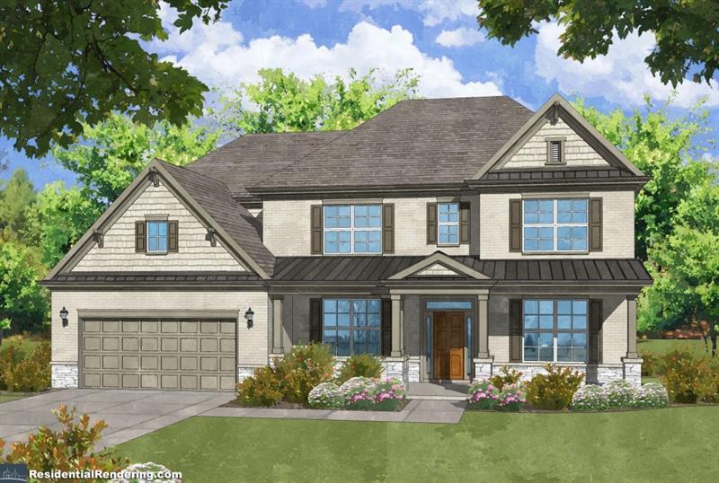 Một gia đình vì Bán tại The Darlington 649 Wynnewood Court Powder Springs, Georgia 30127 United States