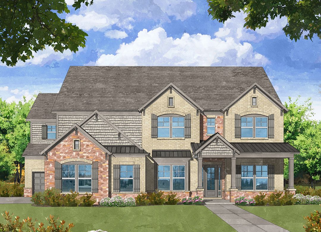 Single Family for Active at Kyle Farm - The Dartmouth 4987 Kyle Drive Powder Springs, Georgia 30127 United States