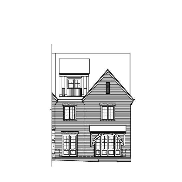 Famille unique pour l Vente à West Main Townhomes - Plan Cwest Main Townhomes 95 Canton Street Alpharetta, Georgia 30009 United States