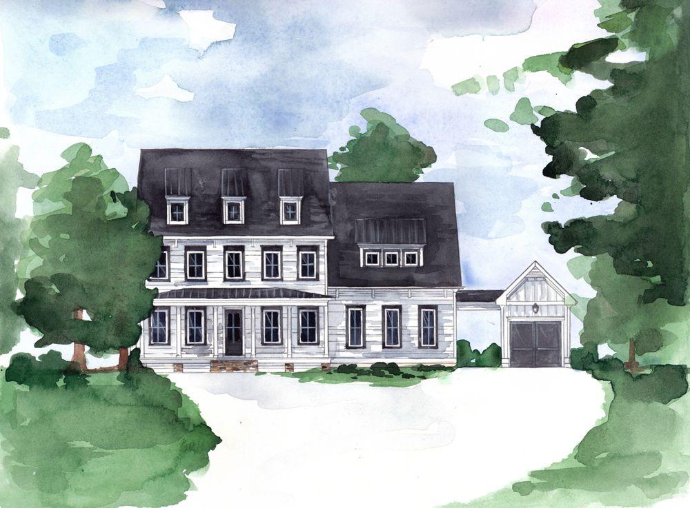 Ensam Familj för Försäljning vid Hembree Circa 1835 - The Belmont 765 Hembree Road Roswell, Georgia 30076 United States