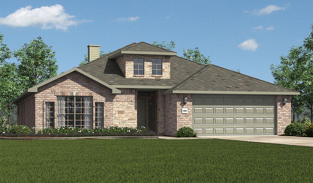 Single Family for Sale at Bella Mia Estates - Carmen 12502 Hudson Ave Lubbock, Texas 79423 United States