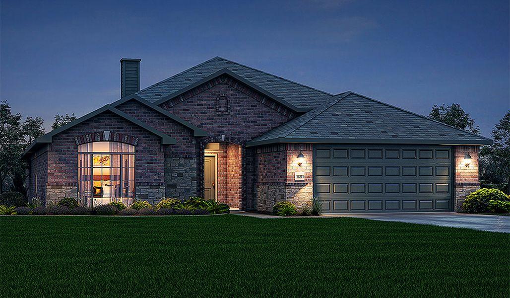 Single Family for Sale at Bella Mia Estates - Gabriella 12502 Hudson Ave Lubbock, Texas 79423 United States