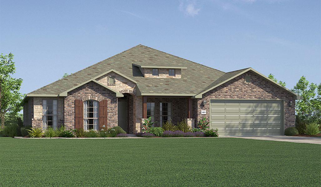 Single Family for Sale at Bella Mia Estates - Shari 12502 Hudson Ave Lubbock, Texas 79423 United States