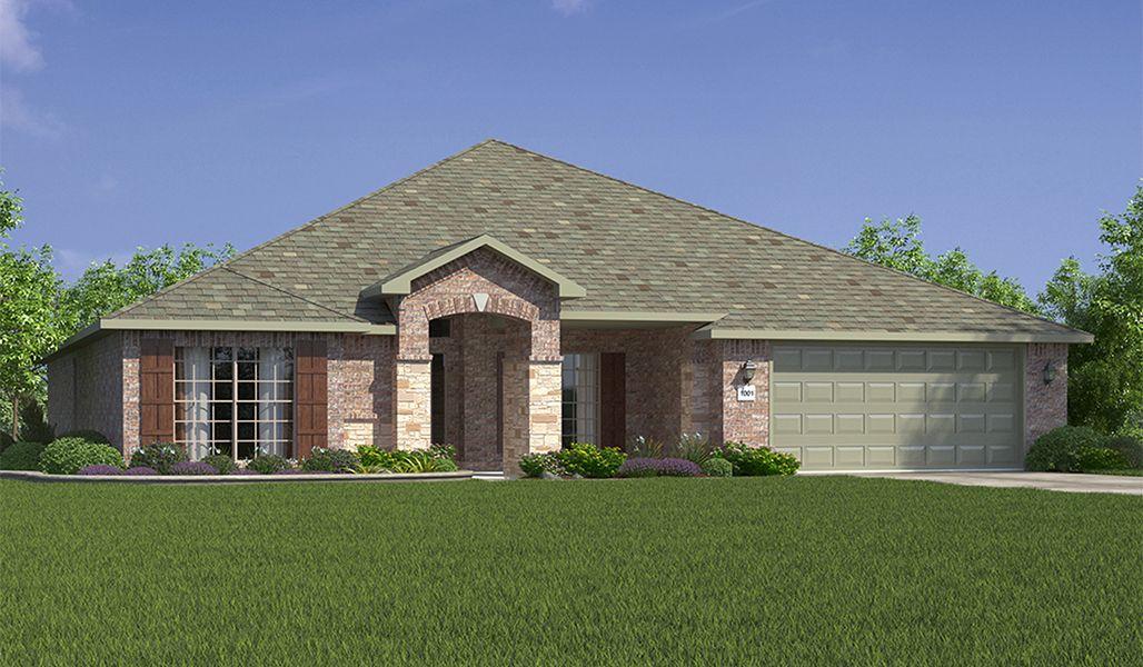 Single Family for Sale at Bella Mia Estates - Elizabeth 12502 Hudson Ave Lubbock, Texas 79423 United States