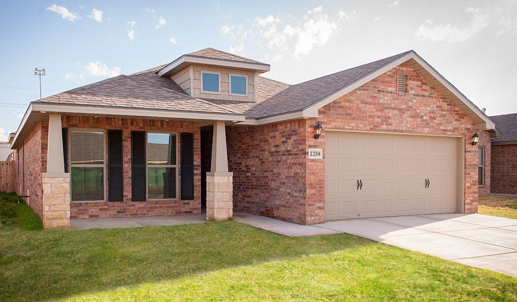 Betenbough homes lone star trails nikki 1117862 midland for Midland home builders