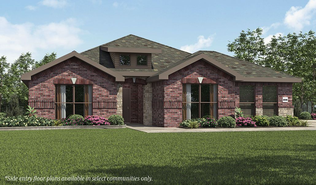 Betenbough homes lone star trails dorothy 1337788 for Midland home builders