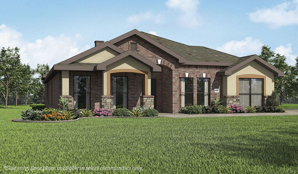 Betenbough homes lone star trails liliana 1337787 for Midland home builders