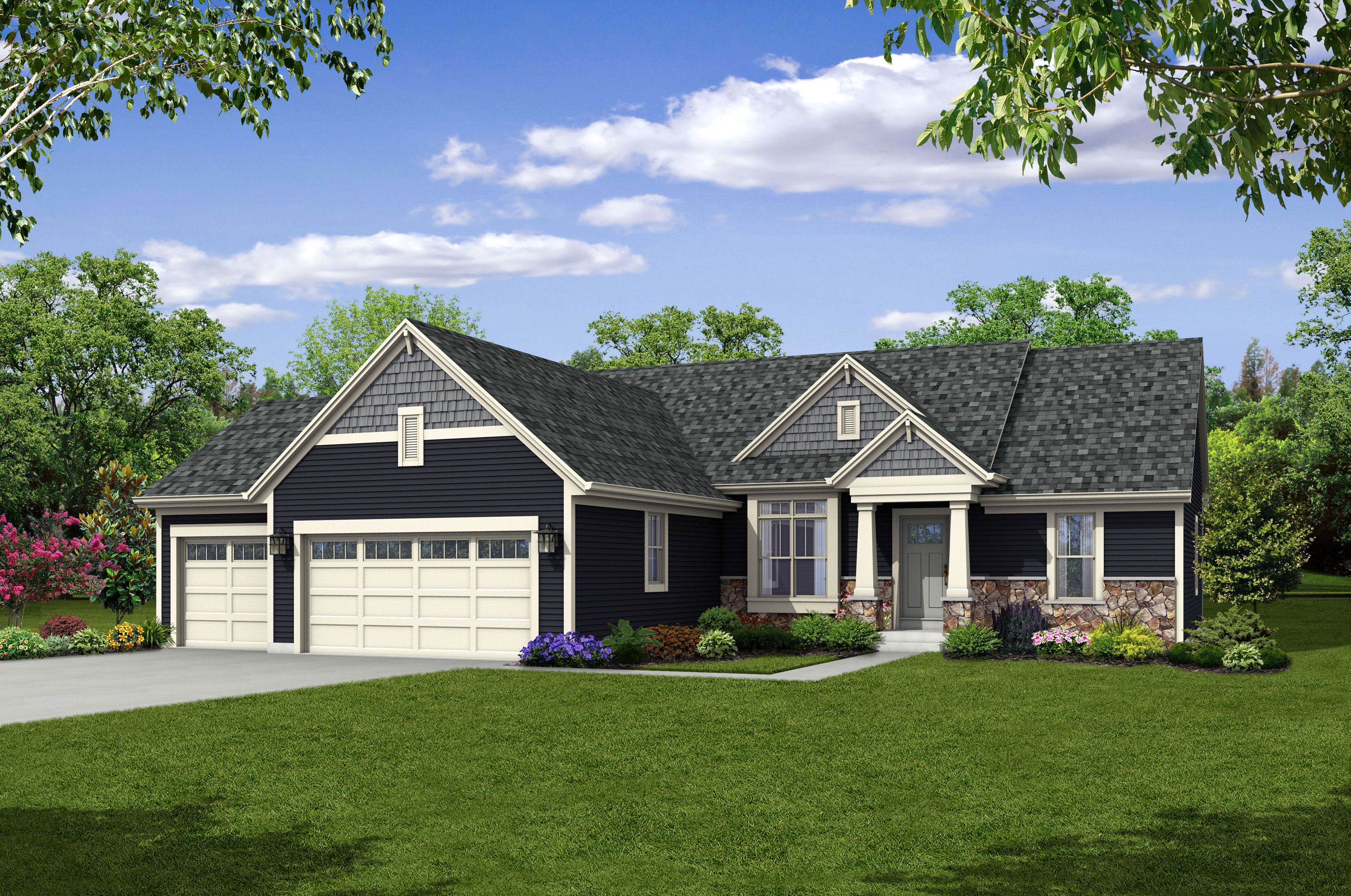 Single Family for Sale at The Independence, Plan 1818 634 Westlawn Avenue Mukwonago, Wisconsin 53149 United States