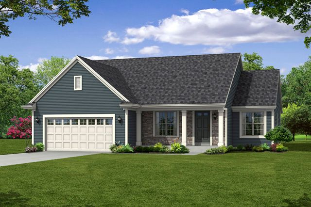 Single Family for Sale at The Saratoga, Plan 1624 1716 Cloverview Street West Bend, Wisconsin 53095 United States