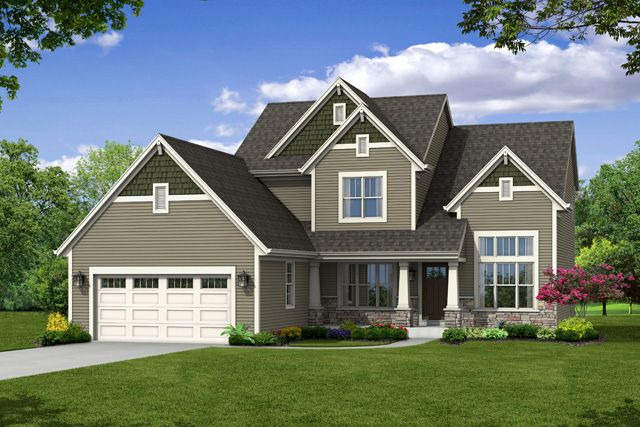 Single Family for Sale at Hunter Oaks - The Franklin, Plan 2310 Hwy T & Hunter Oaks Boulevard Watertown, Wisconsin 53094 United States