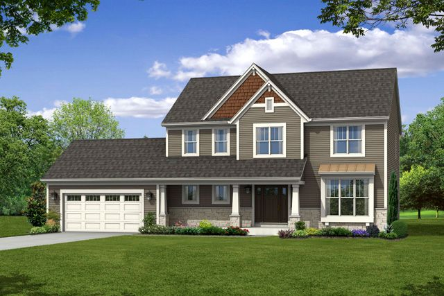 Single Family for Active at The Arbor, Plan 2428 N66 W27883 Maple Street Sussex, Wisconsin 53089 United States