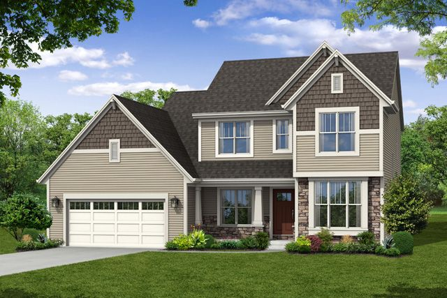 Single Family for Sale at Hunter Oaks - The Stratford, Plan 2350 Hwy T & Hunter Oaks Boulevard Watertown, Wisconsin 53094 United States