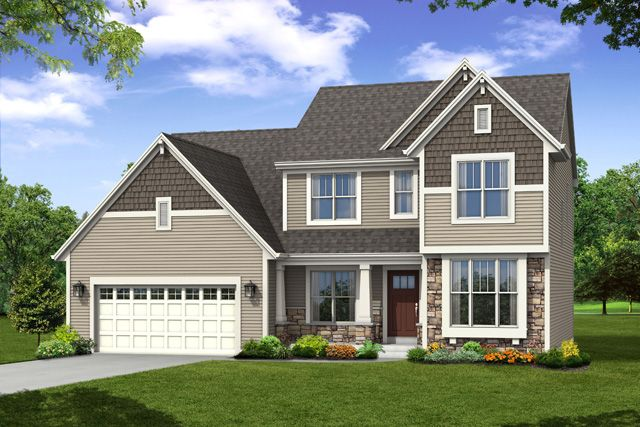 Single Family for Sale at Hunter Oaks - The Stratford, Plan 2550 Hwy T & Hunter Oaks Boulevard Watertown, Wisconsin 53094 United States