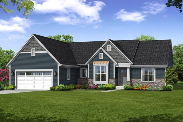 Single Family for Sale at Bay Pointe Condominiums - The Preston, Plan 1812 N54 W35273 Coastal Avenue Oconomowoc, Wisconsin 53066 United States