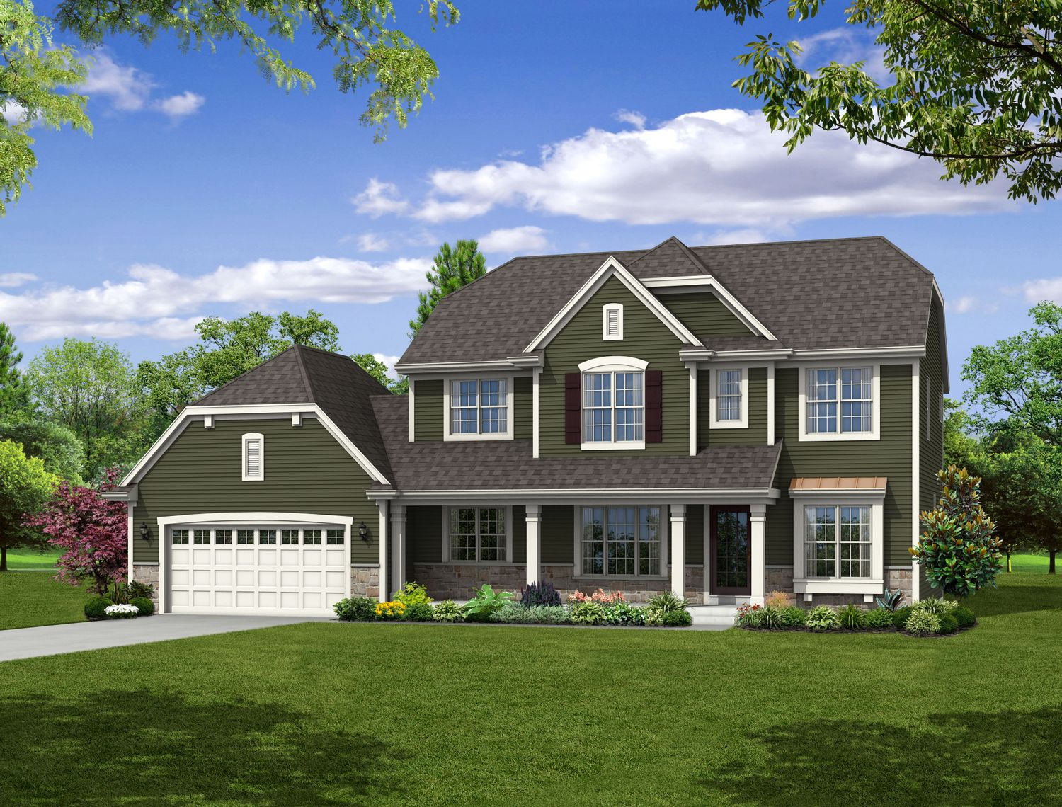 Single Family for Sale at Hunter Oaks - The Franklin, Plan 2514 Hwy T & Hunter Oaks Boulevard Watertown, Wisconsin 53094 United States