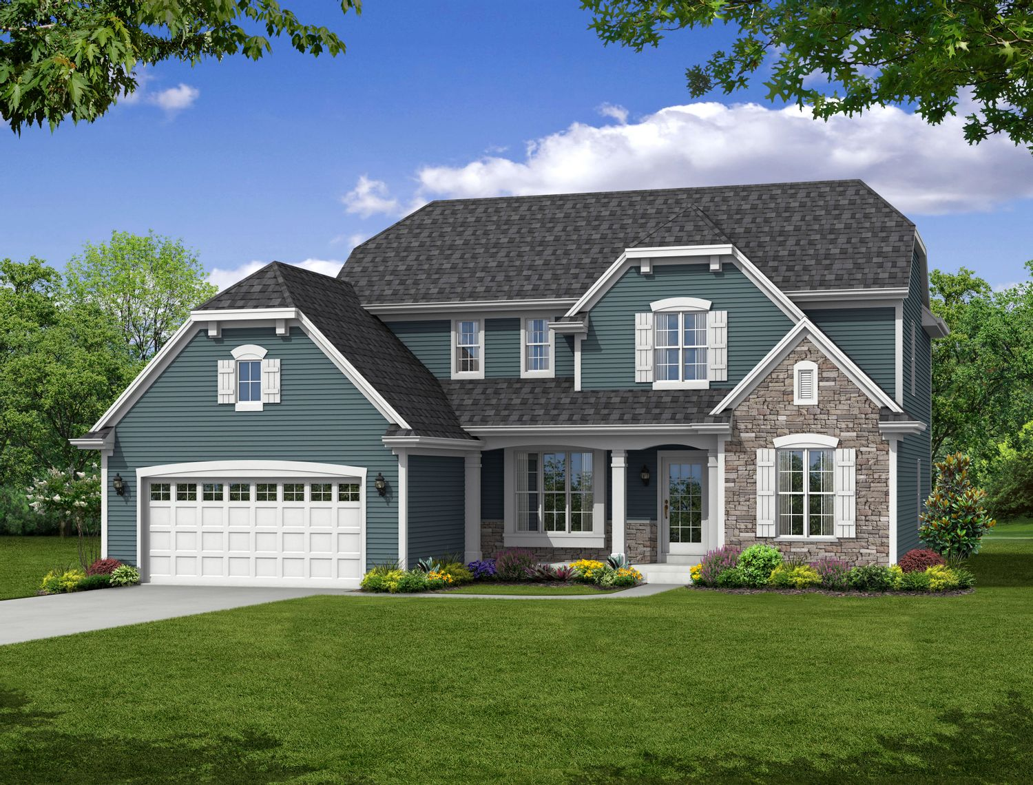 Single Family for Sale at Hunter Oaks - The Charlotte, Plan 2460 Hwy T & Hunter Oaks Boulevard Watertown, Wisconsin 53094 United States